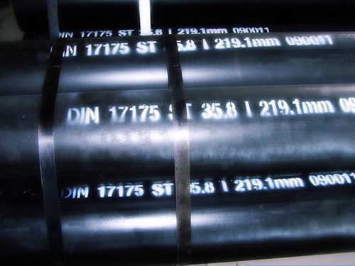 DIN 17175 Seamless Tubes