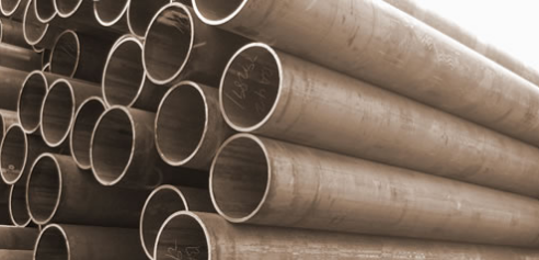 Seamless steel pipes for low and medium pressure service