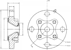 Reducer-flange-draws