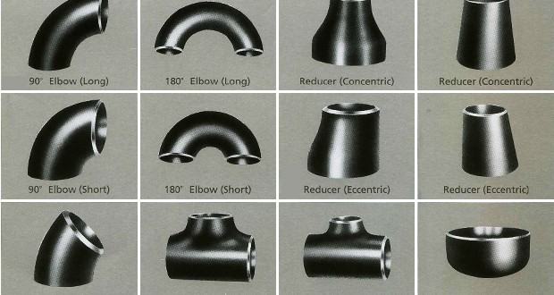 The normal types of Pipe fittings