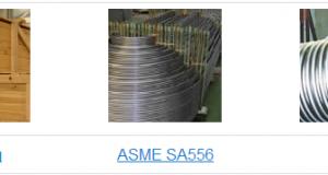 U-bend steel tubes