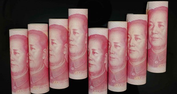China's yuan set for strongest weekly gain in nearly 3 years