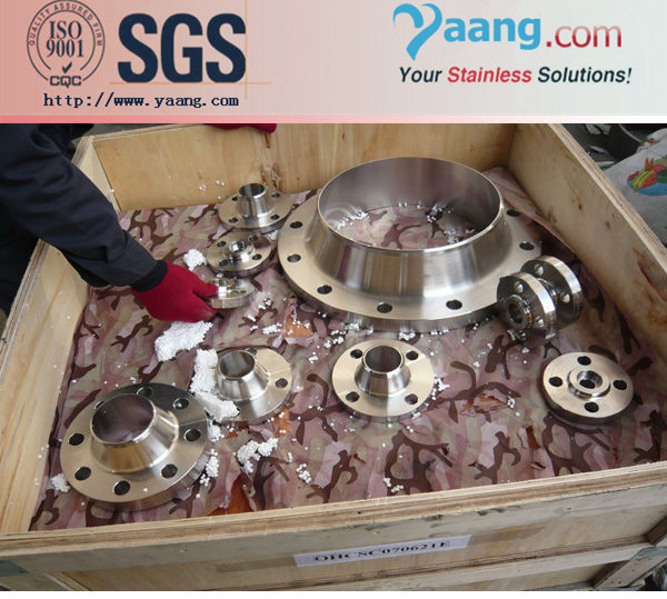 Segmented Super Duplex Stainless steel Flange Coupler For Grooved Pipe
