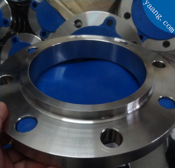 Production technology of stainless steel slip on flange By yaang.com