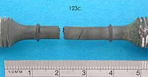 Figure 4 test samples for fracture