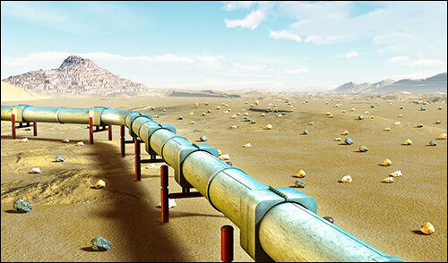 Anticorrosion and protection during oil and gas pipeline transportation