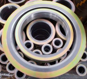 Analysis of the manufacturing process of spiral wound gasket