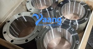 Sealing principle and characteristics of flat welding flange