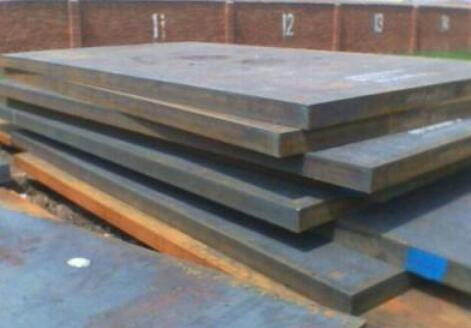 The problem of heat treatment defects of medium thick steel plate and its treatment method